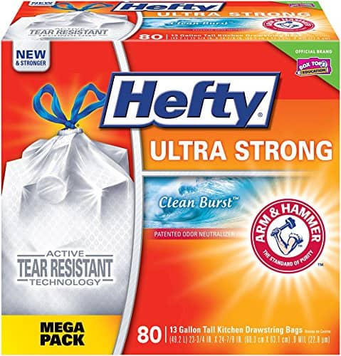 Prime Members: 15% off Hefty Ultra Strong Trash Bags $13.29