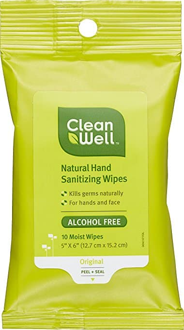 Amazon Prime: 25% OFF CleanWell Sanitizers and Wipes + FREE SHIPPING $8.49