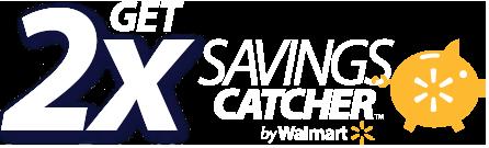 Walmart 2x Savingscatcher rewards when you redeem to Bluebird account
