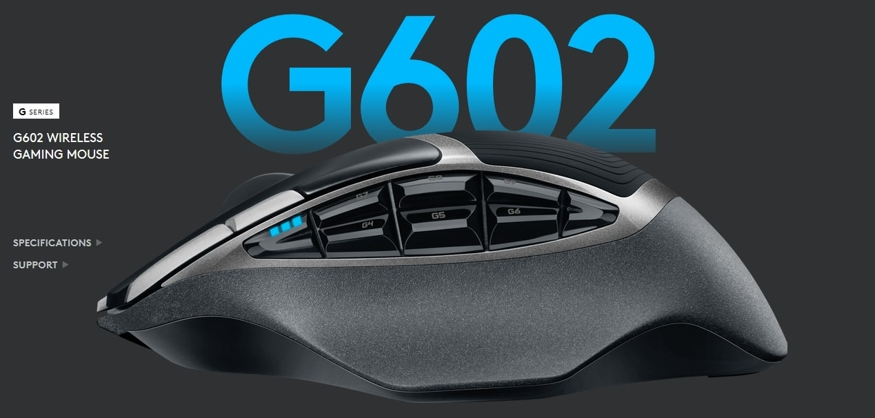Logitech G602 Wireless Gaming Mouse $30 @Amazon - Slickdeals net