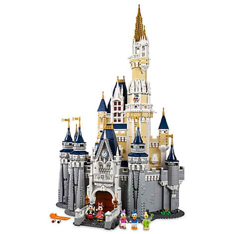 The Disney Castle by Lego (71040) $280.47 with free shipping from disneystore.com
