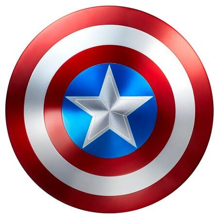 Avengers Legends Captain America Shield - 75th Anniversary - $240