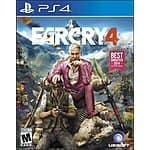 Farcry 4 $19.99 Amazon.com. For PS4, XBOX One, PS3 and Xbox 360