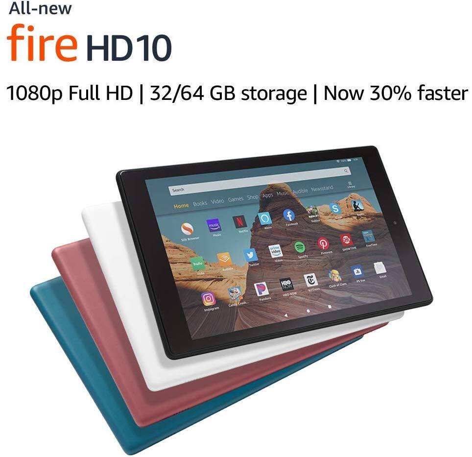 Amazon Fire HD 10 Tablet  Buy 2 for $200 and More