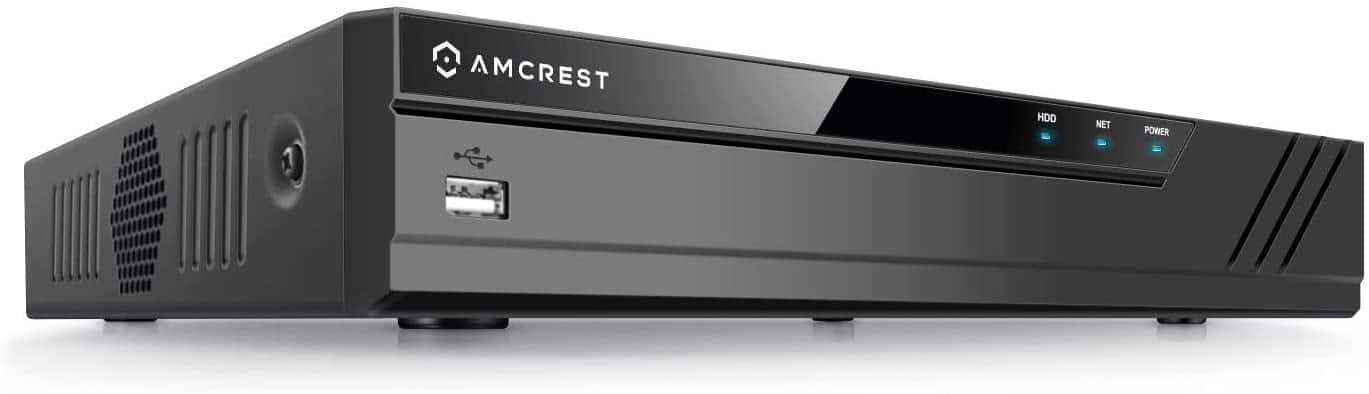 Amcrest NV4108E-HS 4K 8CH POE NVR (1080p/3MP/4MP/5MP/6MP/8MP/4K) POE Network Video Recorder (Hard Drive NOT Included) $136