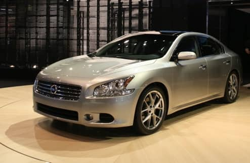 Auto Lease: 2012 Maxima for $279/mo w/ $600 down, plus get $2k Visa Card