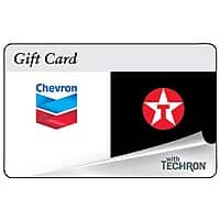 eBay Deal: Buy a $100 Chevron and Texaco Gas Card & Receive a FREE $10 Promotional Gas Card