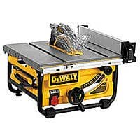 Sears Deal: Dewalt Table Saw DWE7480 $299.00 +tax after price match orig $379
