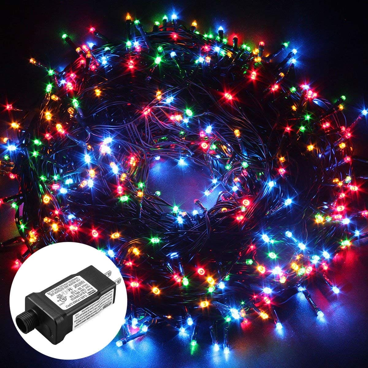 Low Voltage Outdoor Party Lights: Low Voltage 500 LEDs 100M/328FT Dimmable Fairy String
