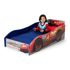 Epic Delta Children Wood Toddler Bed Disney Pixar Cars Amazon Free shipping