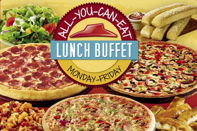 All You Can Eat Lunch Buffet Pizza Hut 5 Ymmv Page 2