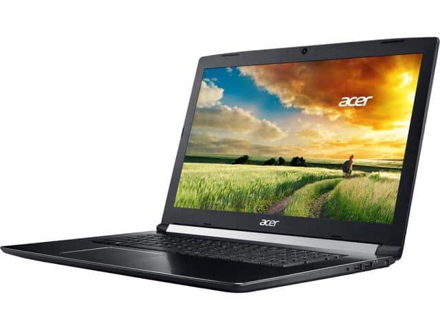 "Acer Aspire 7 A717-72G-700J 17.3"" IPS Intel Core i7 8th Gen 8750H (2.20 GHz) NVIDIA GeForce GTX 1060 16 GB. $999.99 at newegg!"