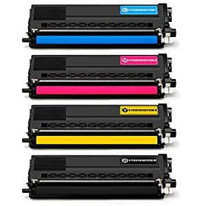 High Yield Toner Cartridges Compatible with Brother TN336 TN-336 TN331 TN-331. 1 Set (4 colors) $35.60 AC