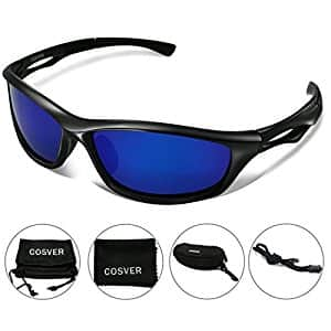 Mens Polarized Sports Sunglasses $9.86