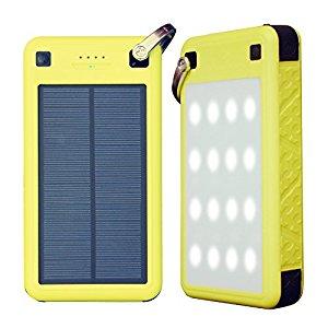 ZeroLemon 26800mAh Solar Charger, ZeroLemon SolarJuice USB-C/QC 3.0 Portable Solar Battery Charger $29.75