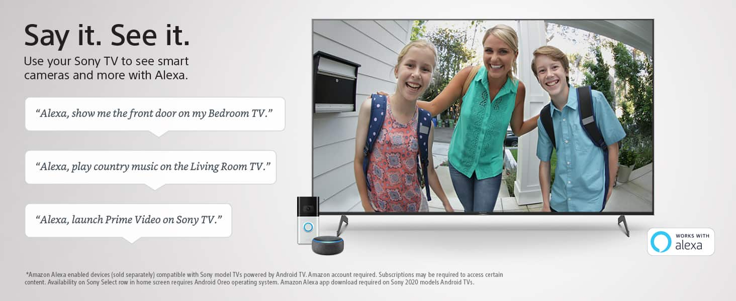 65-inch Sony X900H 4K Ultra HD Smart LED TV with HDR(2020 Model) $1199.64