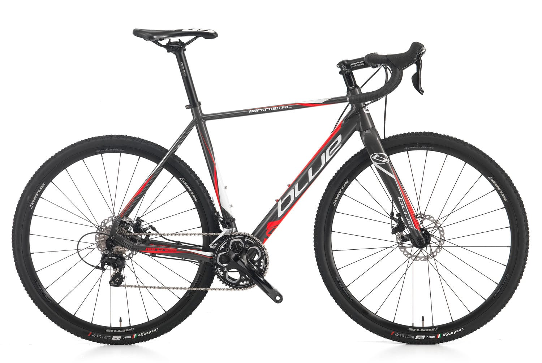 Blue norcross AL gravel cyclocross bike, shimano 105, $696AC & FS
