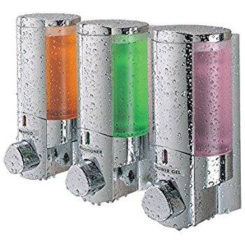[Amazon] Better Living Products 76345 AVIVA Three Chamber Dispenser, Chrome $18.19 with prime shipping