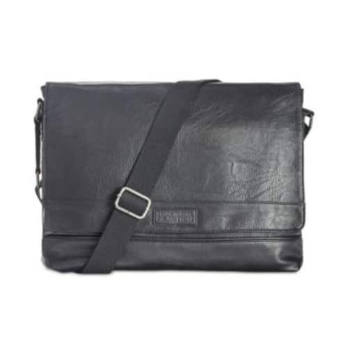 Kenneth Cole Reaction Men's Pebbled Messenger Bag $29.99