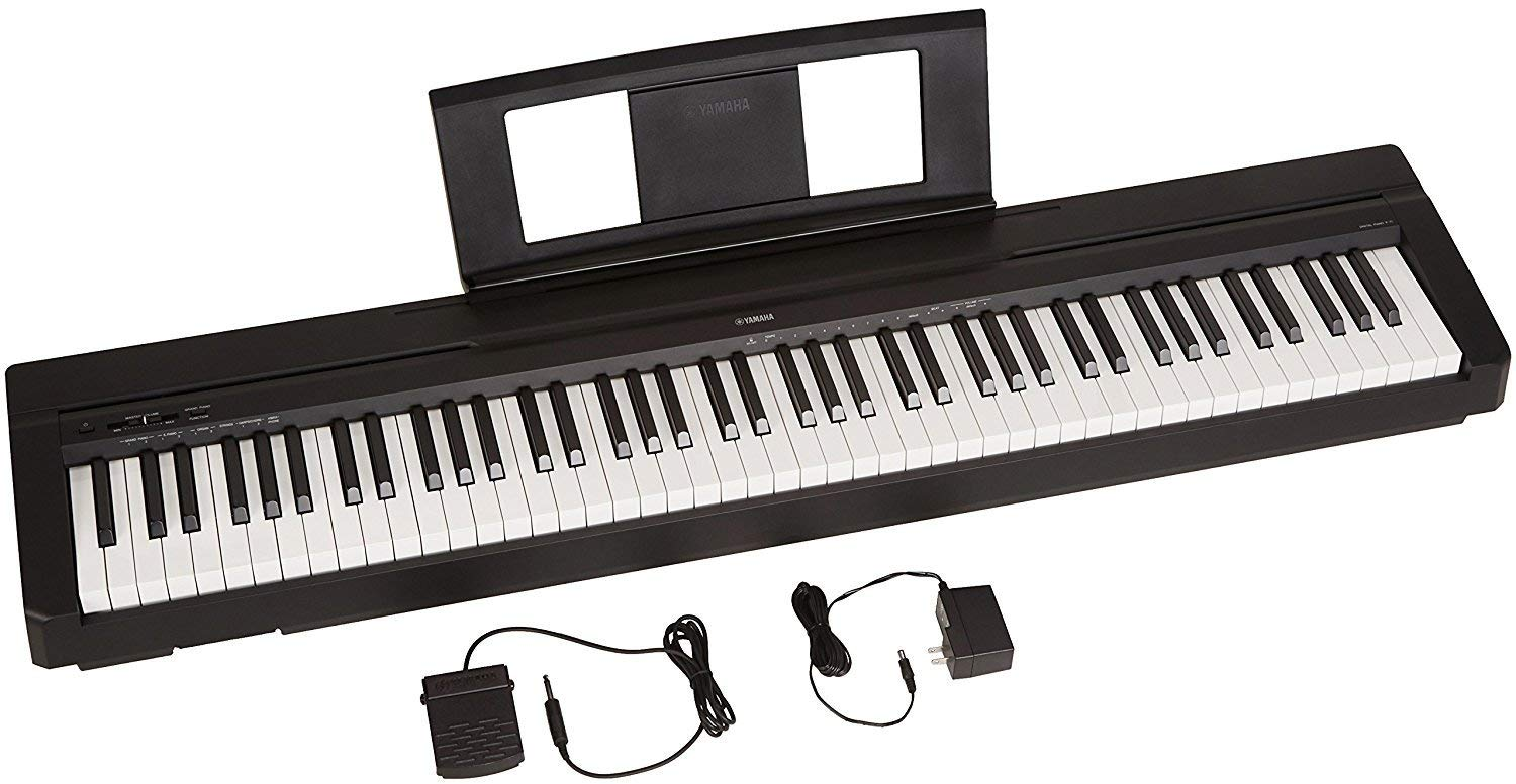 Prime Members: Yamaha P-71 88-Key Digital Piano w/ Sustain