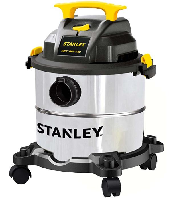 "Stanley SL18115 Wet/Dry Wet Dry Vacuum Steel Tank, 5 gallon/4.0 HP/50"" Amazon $36.43"