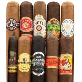 10-Cigar Super Sampler $15
