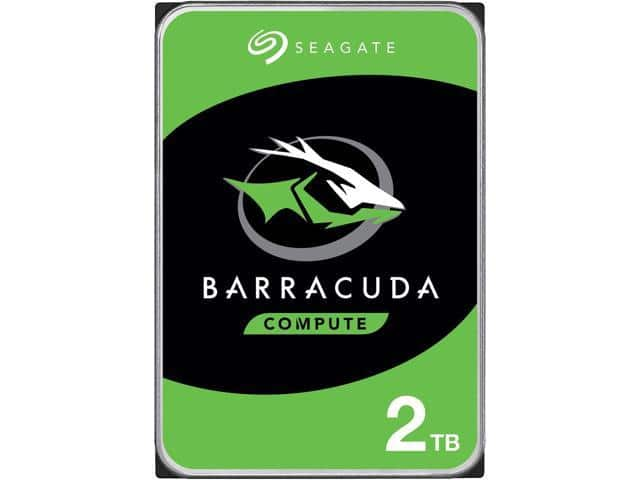 "Seagate BarraCuda 3.5"" 2TB 7200 RPM 256MB Cache HDD -$49.99 +FS"