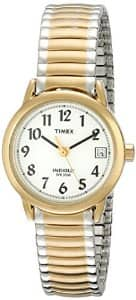Timex Watches: Unisex Weekender Gold-Tone Watch w/ Blue Nylon Band $11.25 & More