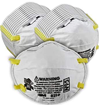 20-Pack 3M N95 Personal Protective Particulate Respirator Masks $24.19