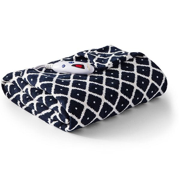 Biddeford Microplush Heated Blanket $20 + free shipping or in store pickup