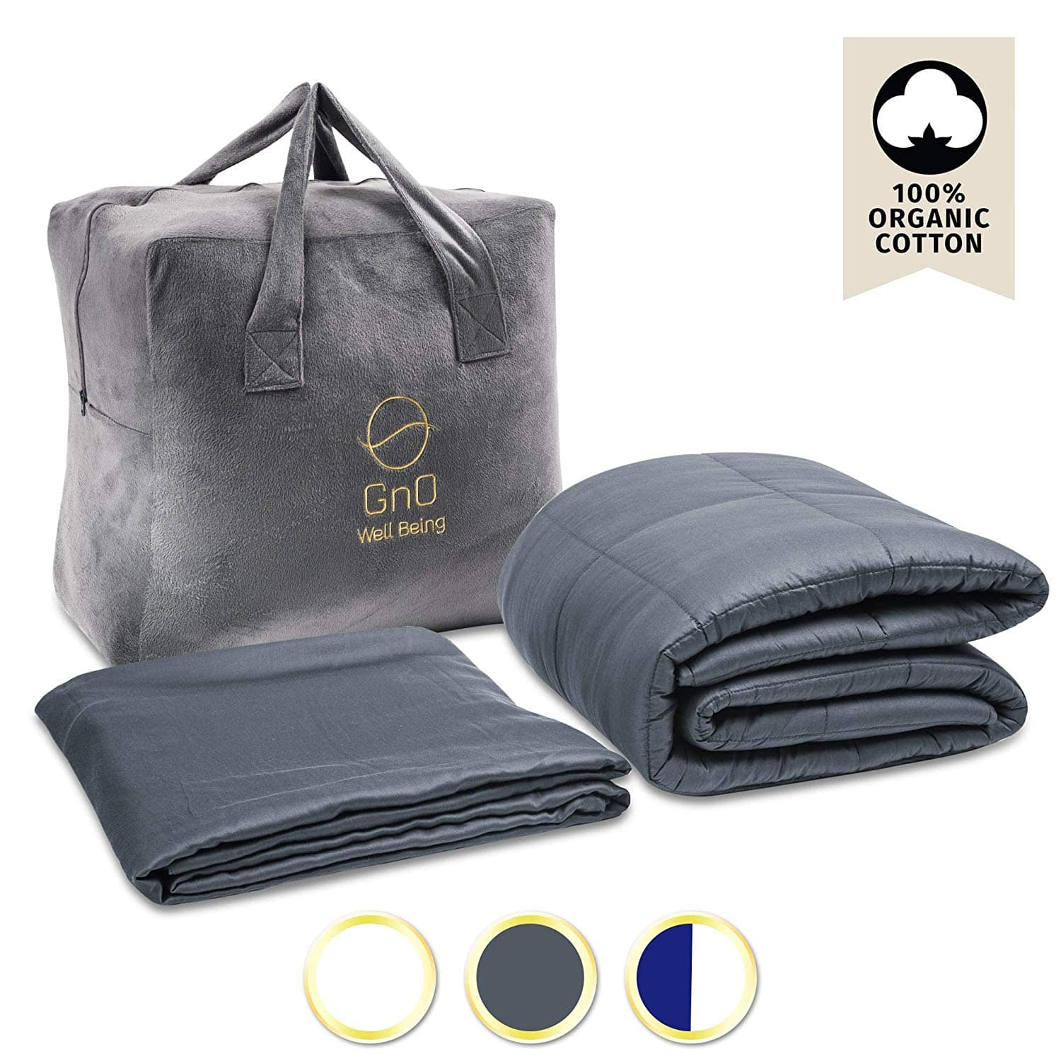 GnO Weighted Blanket 25% off ( Queen size normal price $119- now $89.25)