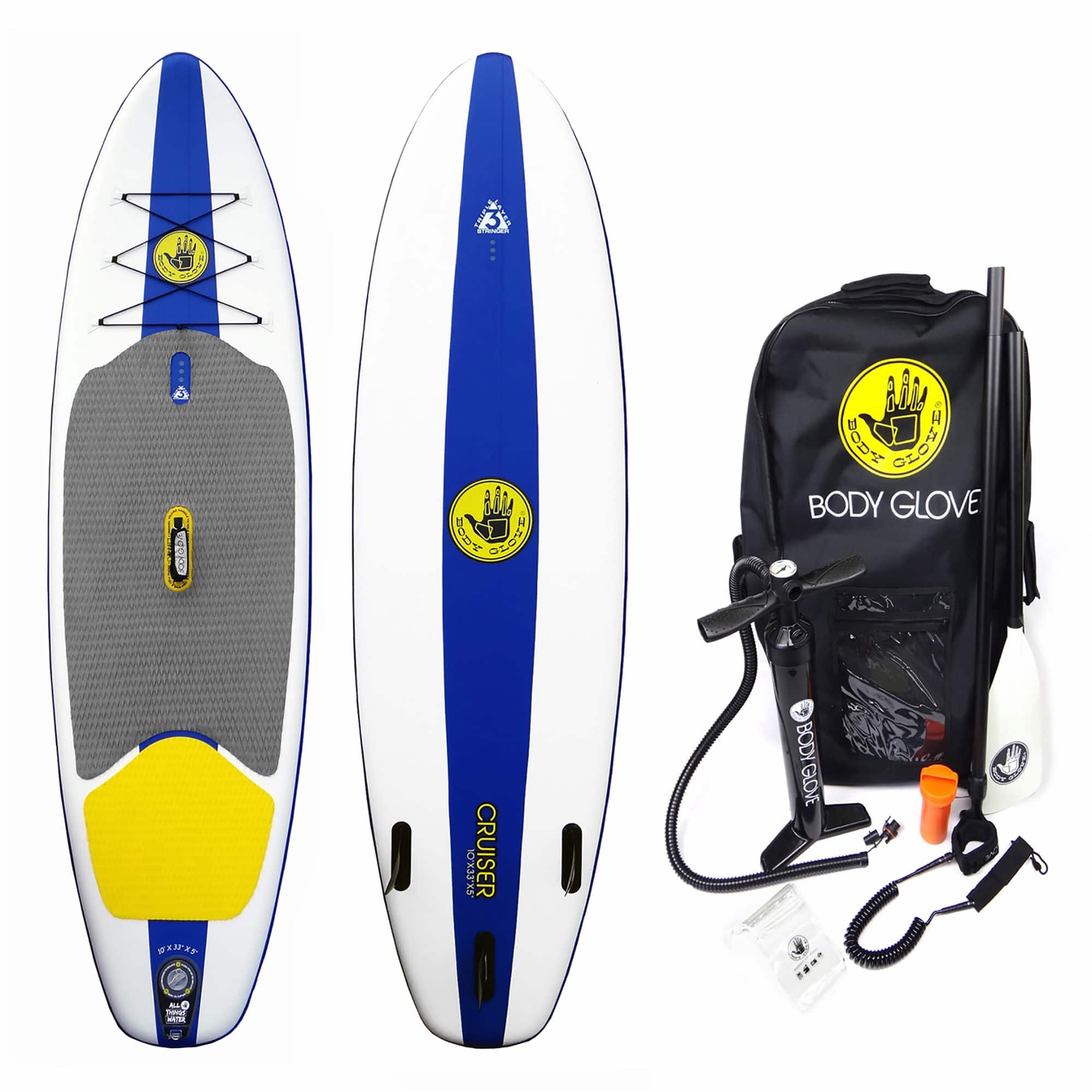 Body Glove Cruiser Inflatable Stand Up Paddleboard 399
