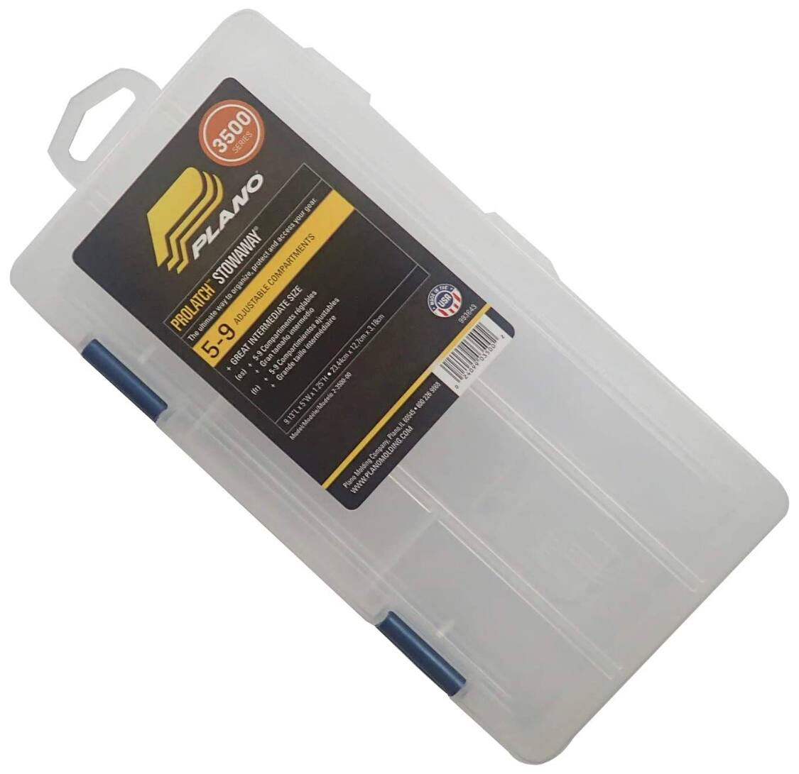 Plano small Stowaway container with dividers $2.48