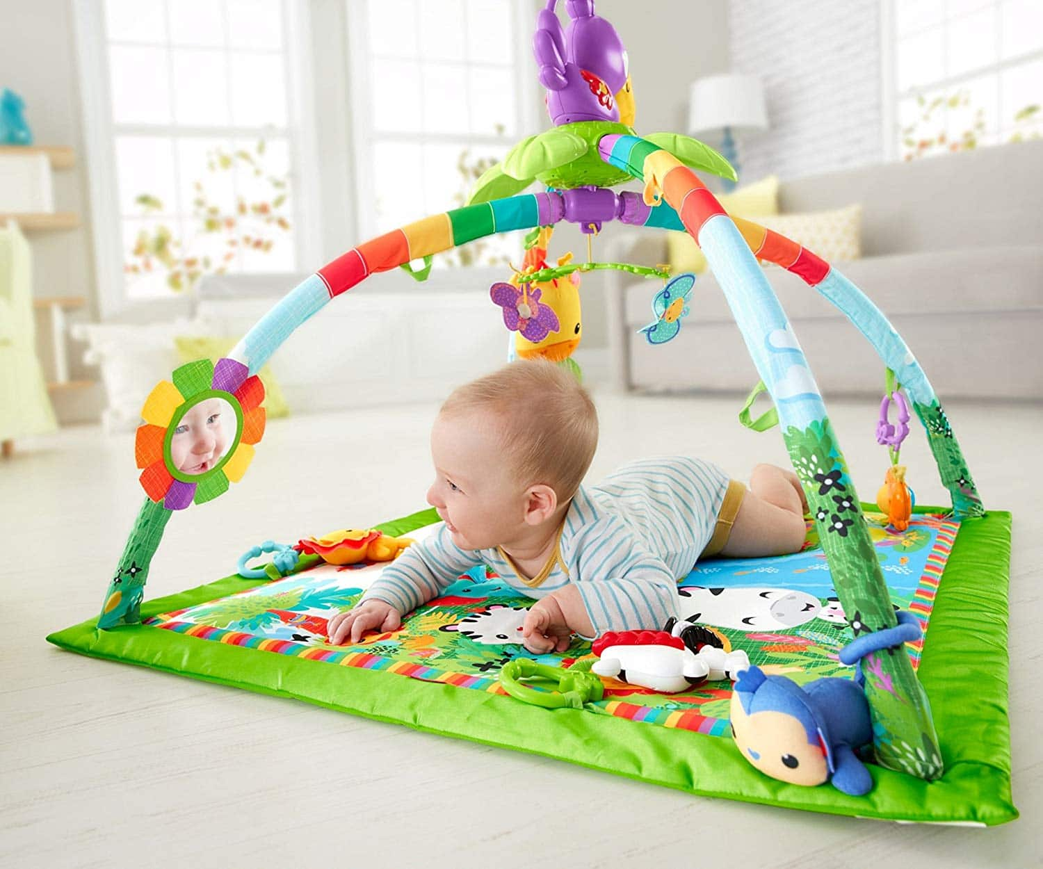 $39.89, 33% off Fisher-Price Rainforest Music & Lights Deluxe Gym for Prime Members