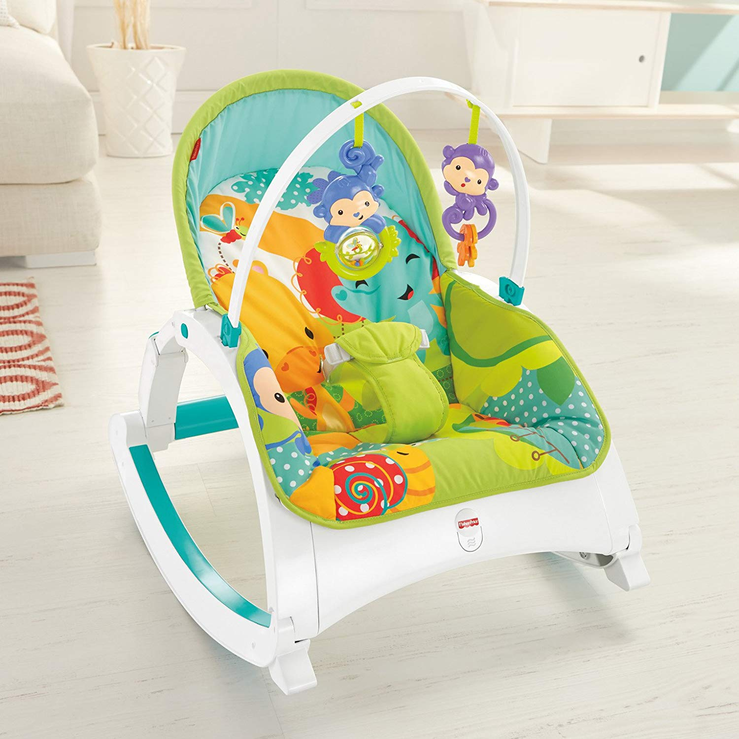 Fisher-Price Newborn-to-Toddler Portable Rocker $35.54 (35% off) on Amazon for Prime Members