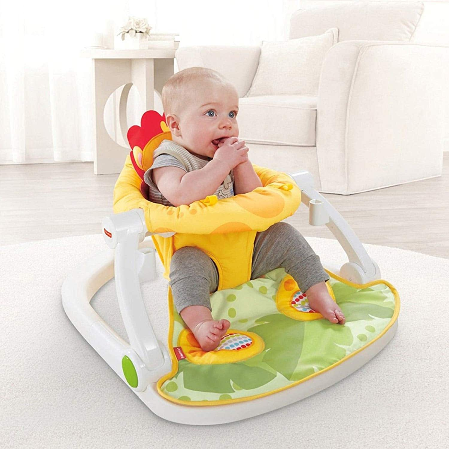Fisher-Price Sit Me Up Floor Seat with Tray $42.49, 15% off) on Amazon for Prime Members