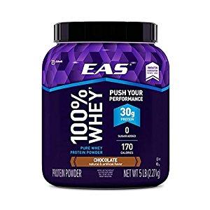 EAS 100% Pure Whey Protein Powder 5lb - $28.42-$30 Amazon S&S
