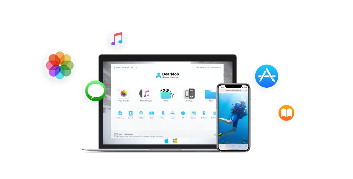 DearMob iPhone manager - free (reg. $59.95)
