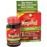 12 Month Supply: Schiffs MegaRed Plant-Omega-3 Softgel Supplements $10.99 f/s