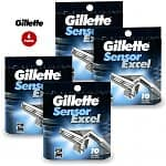 Super Saver Pack: 40 Gillette Sensor Excel Razor Cartridges $41.99 f/s