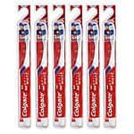 Colgate 360 Optic White Full Head Toothbrush / Tongue Cheek Cleaner, Soft 6 Pack $9.99 Ebay
