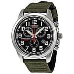 Citizen Men's AT0200-05E Eco-Drive Stainless Steel Watch with Canvas Band $99.99 Ebay