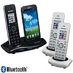 iCreation G-700 Cordless Landline + Android Cellphone Bluetooth Handset Phone System $29.99 f/s