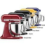 KitchenAid Artisan Series 5-Quart Stand Mixer $235.00 + s/h Meh