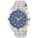 Pulsar by Seiko PF8397 Mens Chronograph Black Dial Date Watch $43.99 f/s