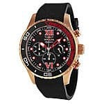 Invicta Signature II Chronograh Black Dial Black Polyurethane Mens Watch 7504 $59.99 Ebay