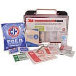 3M 169 Piece Medical Emergency First Aid Kit for Work, Home, School, Car or Boat $17.99 Ebay