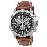 Citizen Men's BL5250-02L Titanium Eco-Drive Watch with Leather Band $169.99 Ebay