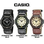 Casio Men's Forester Illuminator Analog Sports Watch - Choose Your Color $12.99 f/s