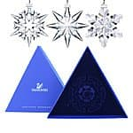 Swarovski Retired Crystal Annual Edition Christmas Snowflake Ornament Mystery Bag $22.00 f/s